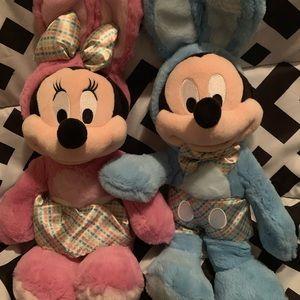 Easter Mini & Mickey Mouse Plush